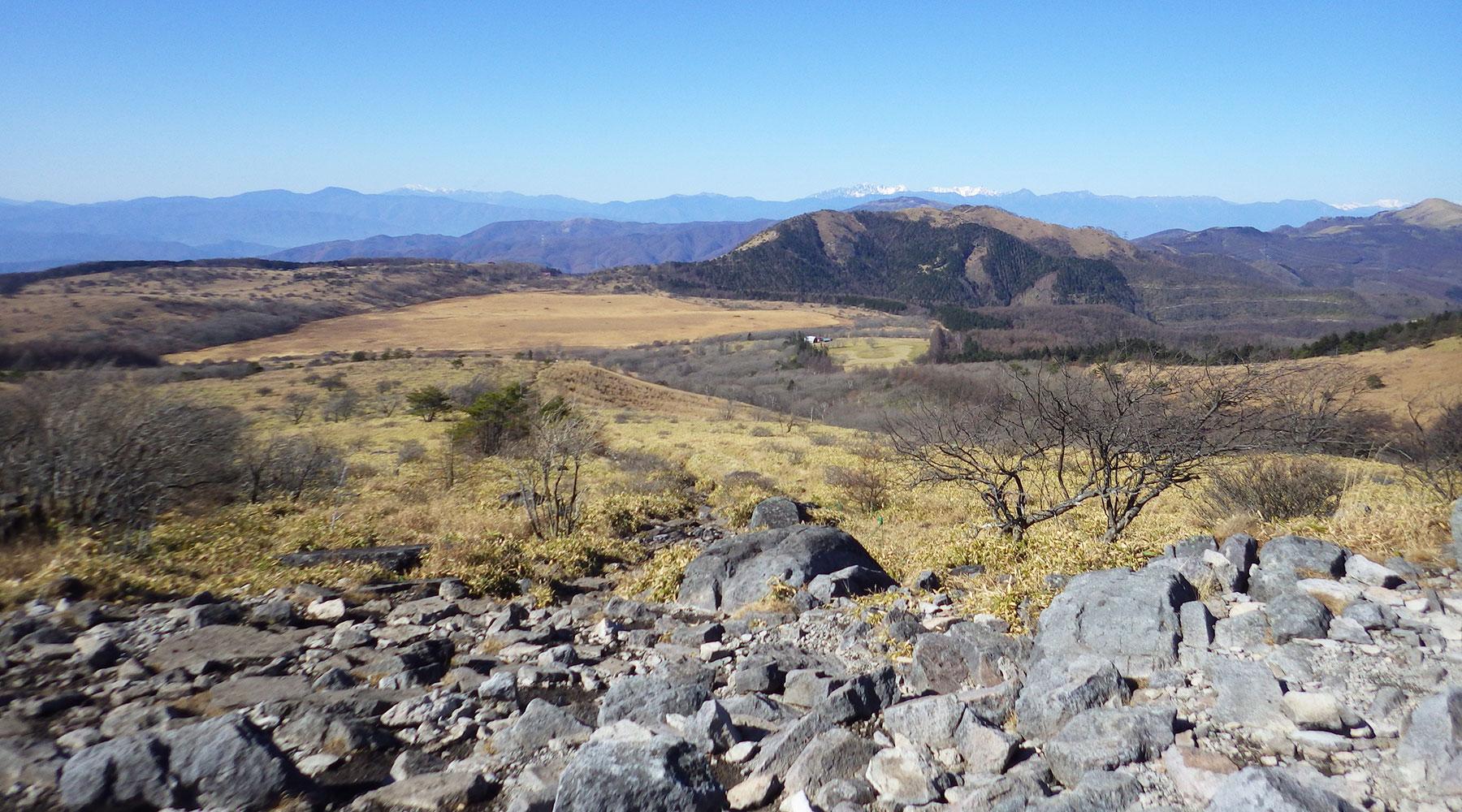 物見岩から見た八島ヶ原湿原