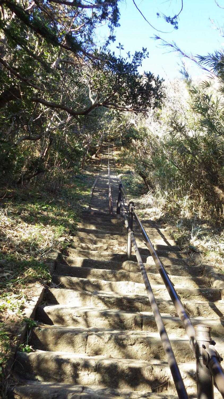 雲見浅間神社参道の階段
