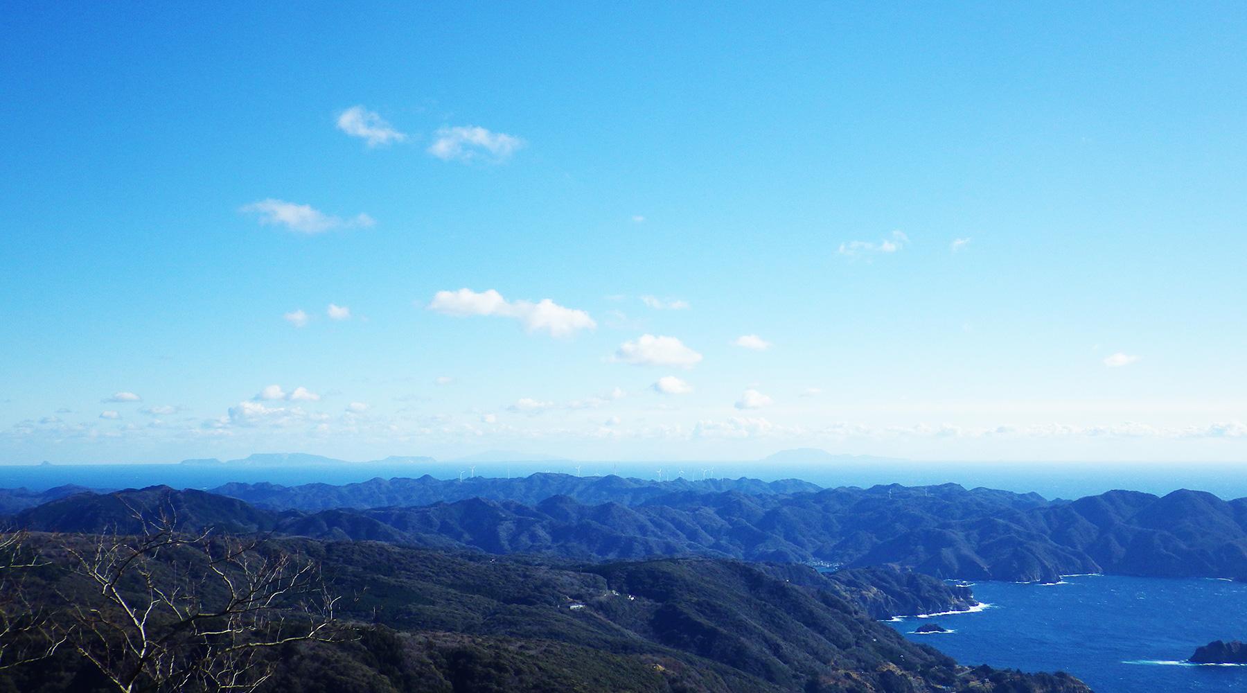 高通山山頂からの眺望