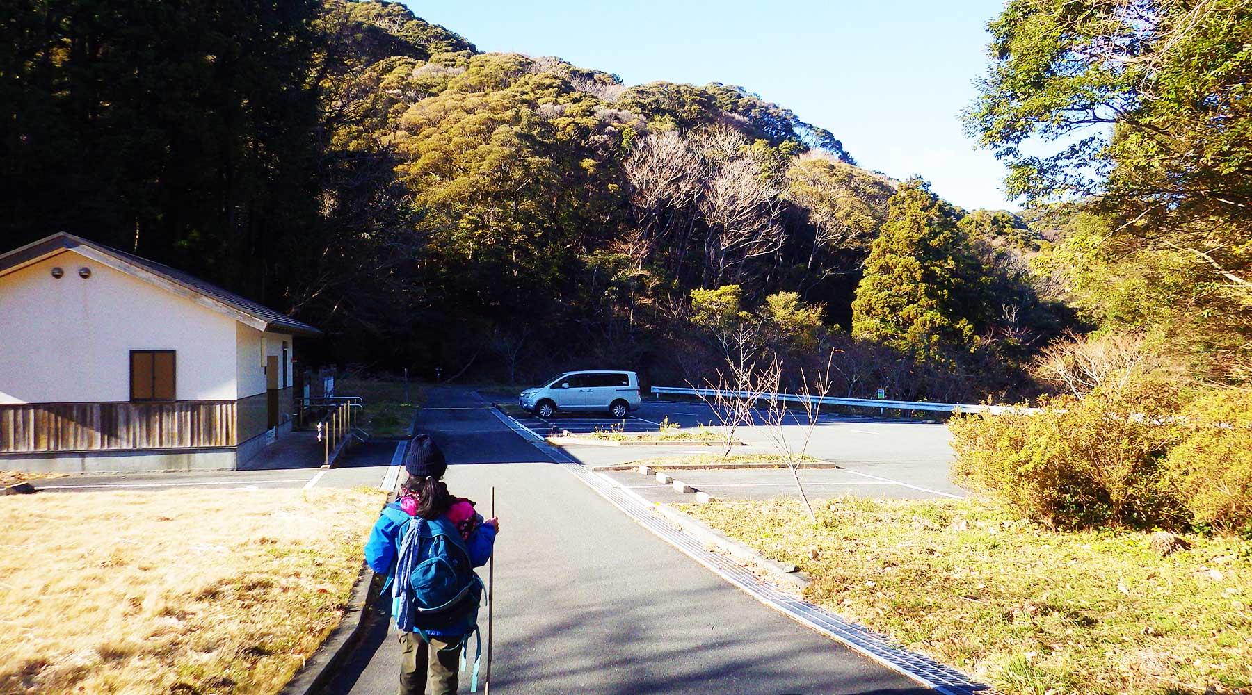 高通公園(雲見地区ふれあいパーク)駐車場