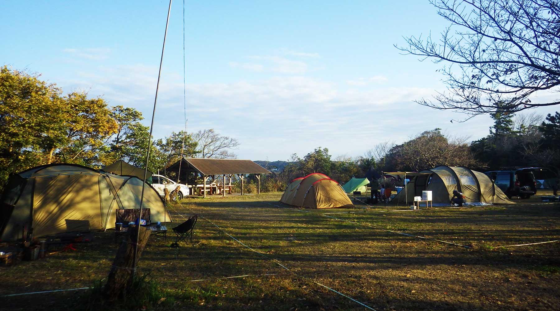 阿字ヶ浦・田の上キャンプ場
