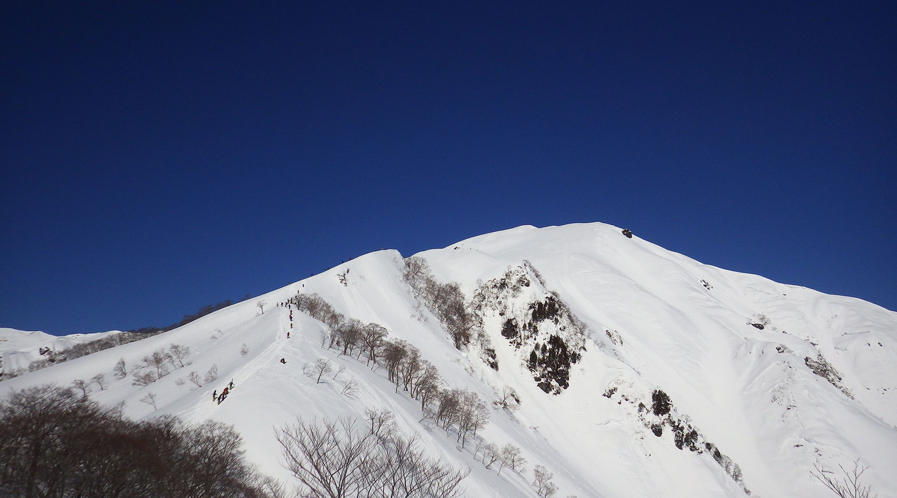 谷川岳への登り