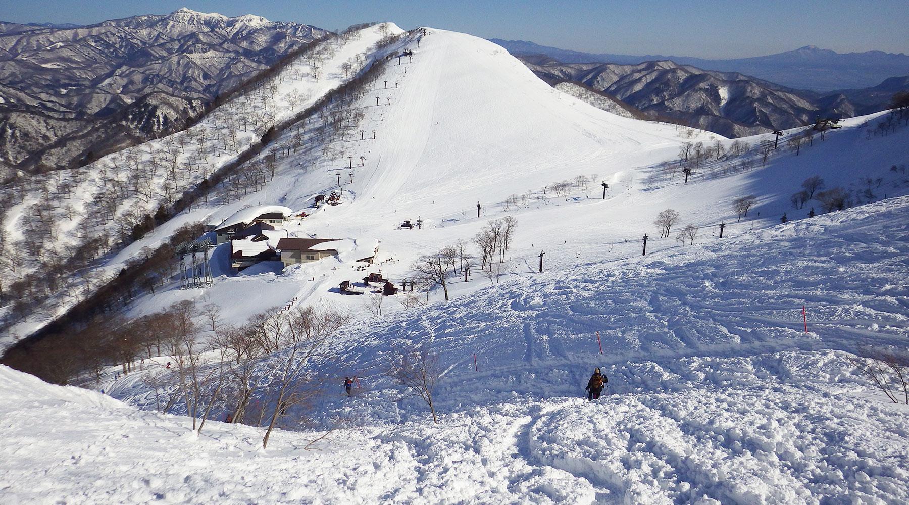 谷川岳・天神平スキー場